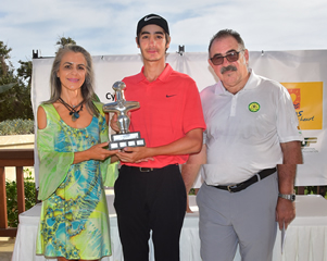 First Cypriot National Winner for Cyprus Amateur Men's Open