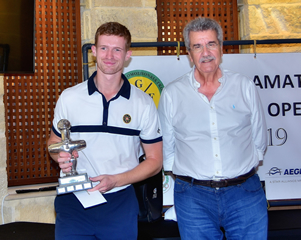 Course record secures third time win for Swiss Champion at Secret Valley Golf Resort
